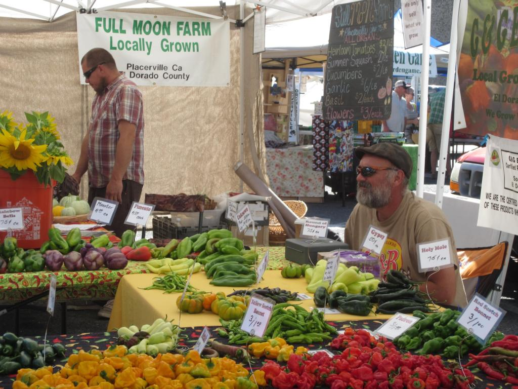 Greg is a member of more than one farmers market, finding it a good resource for networking with the community and individual customers alike.