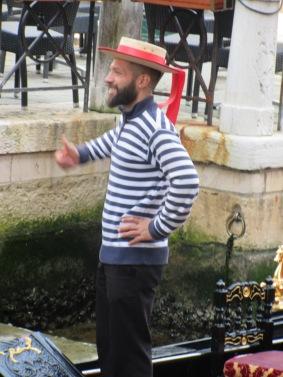 A happy Gondolieri.